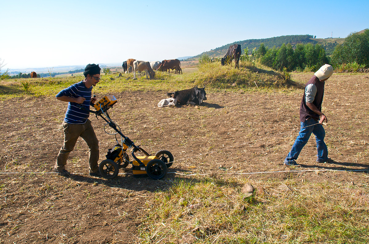 GPR Survey At The Jesuit Mission Of Azäzö (Ethiopia). A Project With The Universidad Complutense De Madrid (Prof. Victor Fernandez).