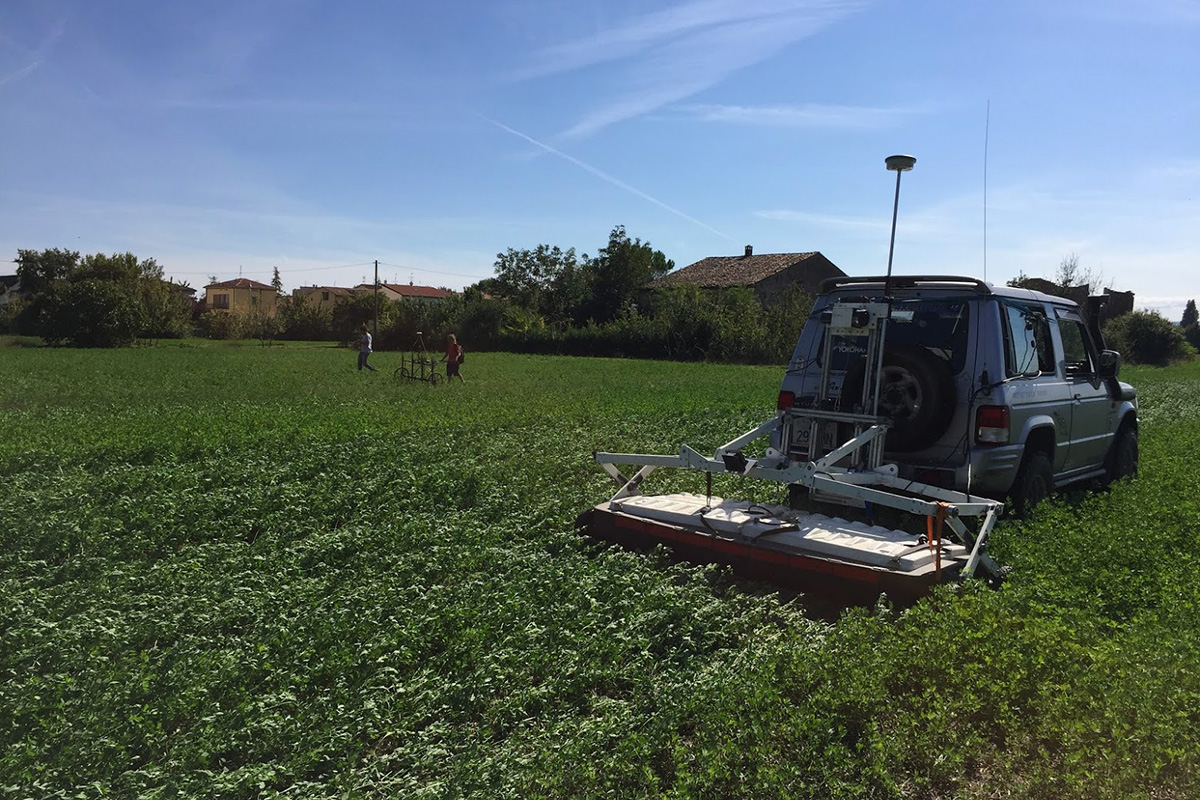 Integrated Multi Sensor Magnetic And GPR Survey (Forlì, Italy). Project With Geostudi Astier And ATS Techno And Surveys.